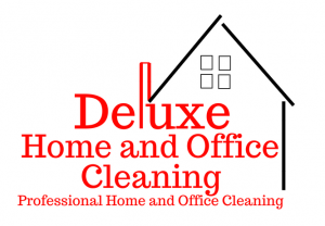 image of deluxe home and office cleaning logo
